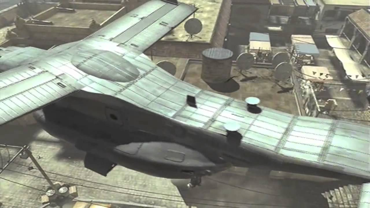 This Dude Banks Knife Off Helicopter In Modern Warfare 3