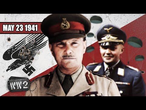Invaze na Krétu - Druhá světová válka