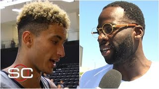Kyle Kuzma, Draymond Green react to DeMarcus Cousins' ACL injury | SportsCenter