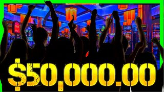 Over $50,000.00 In JACKPOTS!