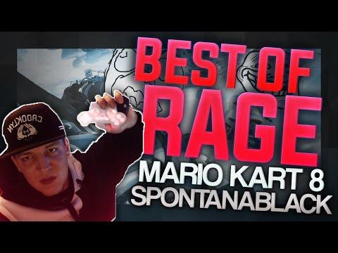 SpontanaBlack - BEST OF RAGE | Mario Kart 8