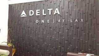 Delta One Business Class DL7 LAX To HND A330 Delta Airlines