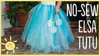 DIY   How To Make A No-Sew Tutu (Easy Halloween Costume!!)