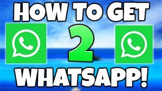 How to Get 2 Whatsapp On One iPhone/Android ✅ Download TWO Whatsapp in 1 Same Phone