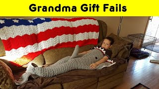 Funny Grandma Gift Fails That Made Everyone Laugh Out Loud