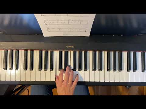"How to play a very easy arrangement of ""Jingle Bells"""
