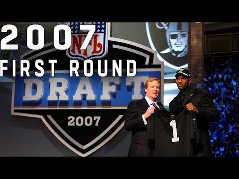 Brady Falling, Cowboys' Big Trades, & More!    2007 NFL Draft 1st round