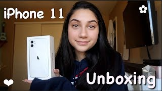 iPhone 11 UNBOXING!!