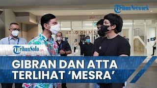 Potret Gibran dan Atta Halilintar Nonton PSG Pati vs PSIM di Solo, Ternyata Hanya Garang di Medsos