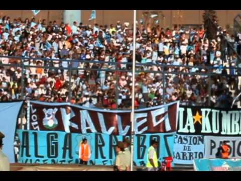 """""""La Fiel Del Norte (Deportes Iquique Campeón 2010) www.tierradedragones.cl"""" Barra: Furia Celeste • Club: Deportes Iquique"""