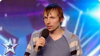 Gatis Kandis is back to make Simon laugh… again! | Britain's Got More Talent 2016