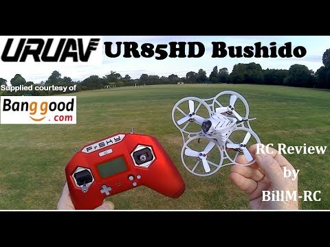 URUAV UR85HD Bushido review - incl firmware update