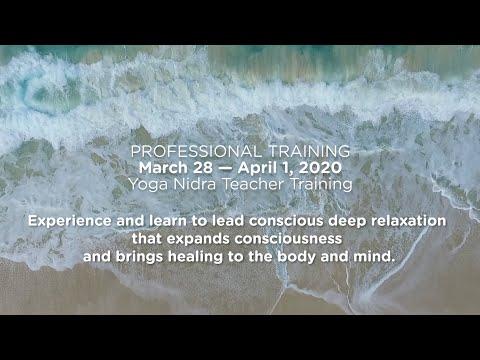 Yoga Nidra Teacher Training with Dr. Marc Halpern (Siva) and ...