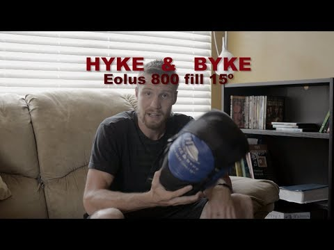 Hyke & Byke Eolus 15º Sleeping Bag Review _ Cheap Down Sleeping Bag