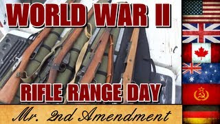 World War II Rifle Range Day