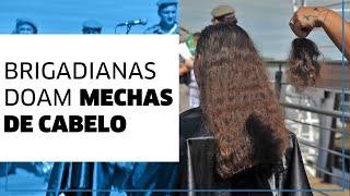 Em ação no Barco Cisne Branco, Brigadianas doam cabelo no Dia Internacional da Mulher