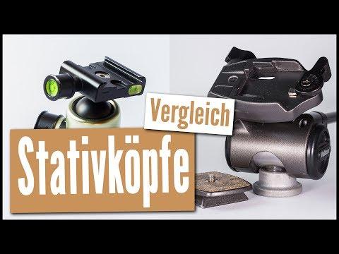WELCHER STATIVKOPF IST BESSER? | Kugelkopf Vs. 3-Wege-Neiger | REVIEW