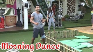 Bigg Boss 14 : Morning Dance of Contestants On Dj Wale Babu Song | Day 12 | Episode 11