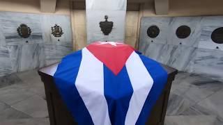 Tributo del pueblo de Cuba a José Martí en el Aniversario 125 de su Caída en Combate