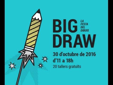 Presentación del Big Draw Barcelona 2016