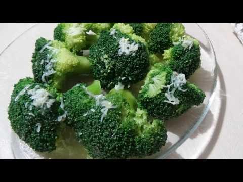 Самый вкусный салат из брокколи за 5 минут.