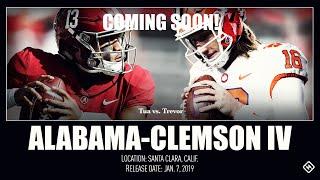 Alabama Vs. Clemson NCAA Championship! Live Stream Reaction