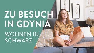 Schwarze Highlights in Polen | Monochromes Wohnen