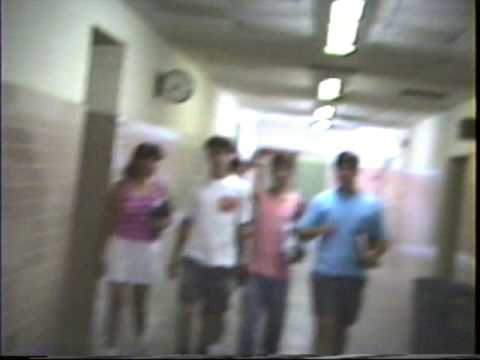Recorded last day of high school in 1989