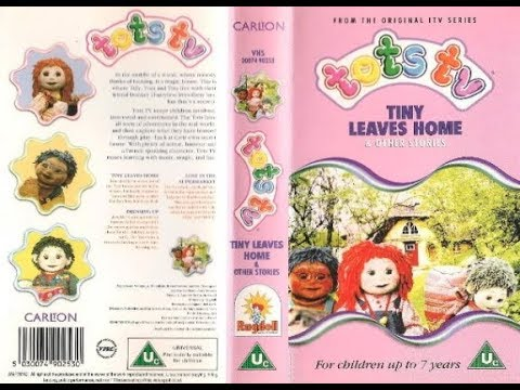 Tots TV: Tiny Leaves Home and other stories (1997 UK VHS)
