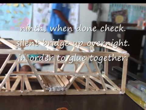 Membuat Jembatan Stik Es Krim