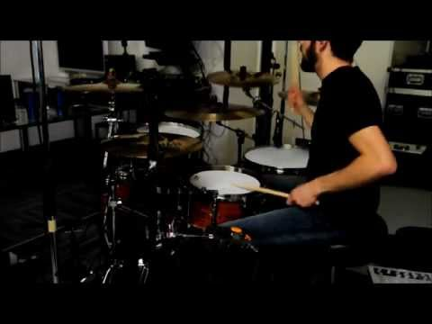 Holding On by Shrive (drum video)