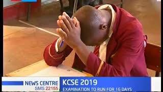 Over 600,000 candidates set to sit for their KCSE exams in different parts of the country