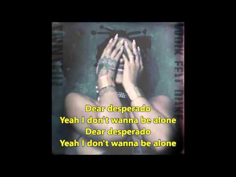 Rihanna – Desperado (Lyrics) – COVER