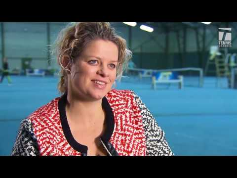 International Tennis Hall of Fame 2017 Inductee Kim Clijsters