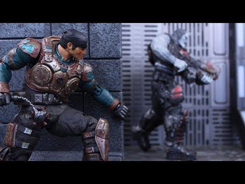 Storm Collectibles Gears Of War 5 (GameStop Exclusive) Marcus Fenix Action Figure Review