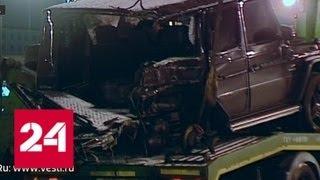 Водитель внедорожника скрылся с места страшного ДТП, как только отошел от шока - Россия 24