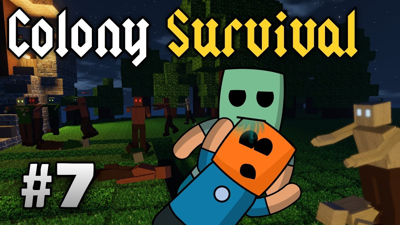 Colony Survival ep7 | Thinning the zombie herd