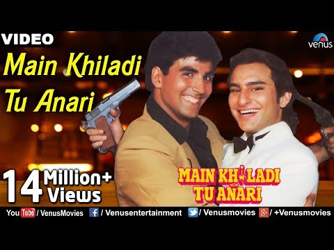 Main Khiladi Tu Anari (Song) by Abhijeet Bhattacharya, Anu Malik,  and Udit Narayan