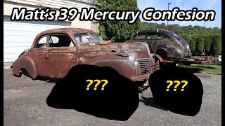 1939 Mercury Coupe Confession - A Build Is Coming