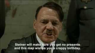 Hitler plans to ruin Jodl's birthday