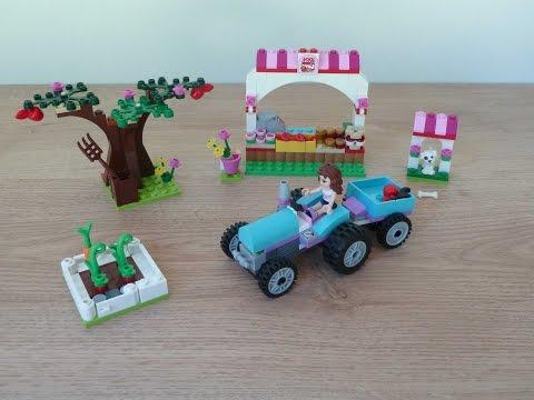 Vidéo LEGO Friends 41026 : Le marché