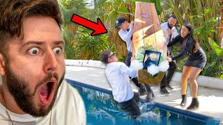 FUNERAL DISASTER CAUGHT ON CAMERA!! (FREAK ACCIDENT)  LOSING ONE OF THE BOYS!!  WE LOST KLEINY RIP  Best Moment: 01:21  OUR BOOK: https://www.amazon.co.uk/Social-Struggle-took-over-Internet/dp/0992658578  LUC CLOTHING: https://lucclothing.com/  Make sure you check out Andrew Henderson on YouTube: https://www.youtube.com/user/AndrewHendersonTV/videos  Thank you so much for watching!  Catch us every Monday and Thursday for new episodes!  TURN ON POST NOTIFICATIONS SO YOU NEVER MISS AN EPISODE!  …and if you don't already, make sure you smash that subscribe button!  For more fun, head over to our Instagrams:  @woodyandkleiny  @managerdarryl  @baileylennon  @brandon_baum  @gabsdjanogly  WE LOVE YOU GUYS!  #WAKPack WE'LL SEE YOU ON THE NEXT ONE  Avengers Assemble Alex and Kleiny Relationship Reveal Kleiny Funeral  Losing a Boy Kiss of Life Tinder Life Hack Good Boy Dog Car Window Andrew Henderson Football Freestyle Trick Shot Bottle Flip Snooker Table Let's Go Stick It In That Old Thing Pool Jump