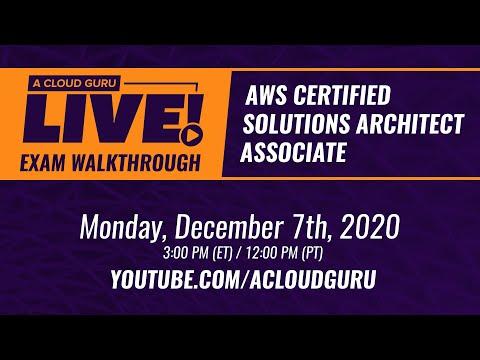 A Cloud Guru Live: AWS Exam Question Walkthrough (Certified ...