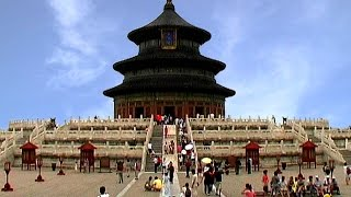 preview picture of video 'China - Peking Himmelspalast Tempel'