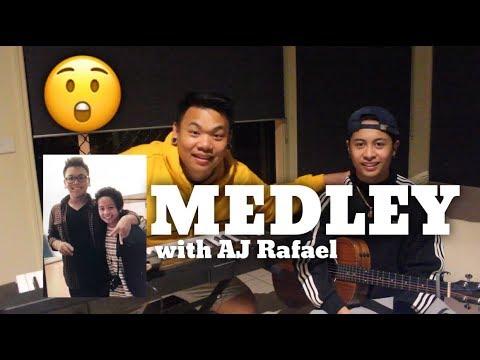 Old school Medley x cover by AJ Rafael & Justin Vasquez