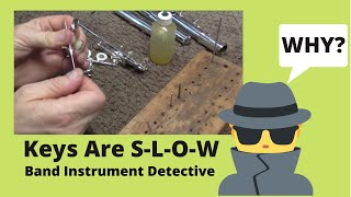 Band Instrument Detective: Flute Keys Are Slow.....Why?
