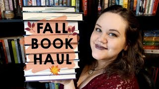 Fall Book Haul | 2017