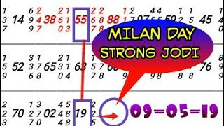 Milan day open to close strong ank today milan jodi today - ฟรี