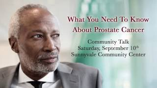 Prostate Cancer Community Talk 2016