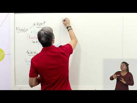 Aula 07 | A epistemologia de Kant  - Parte 01 de 03 - Filosofia